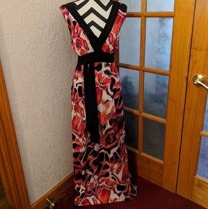 Summer vneck dress